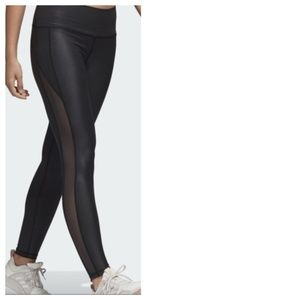 Adidas Believe This Liquid Shine Leggings NWT